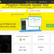 Pingdom Report